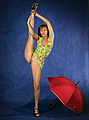 nude contortion girl