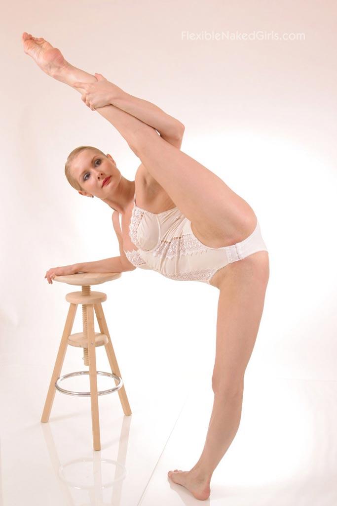 Flexible naked girls