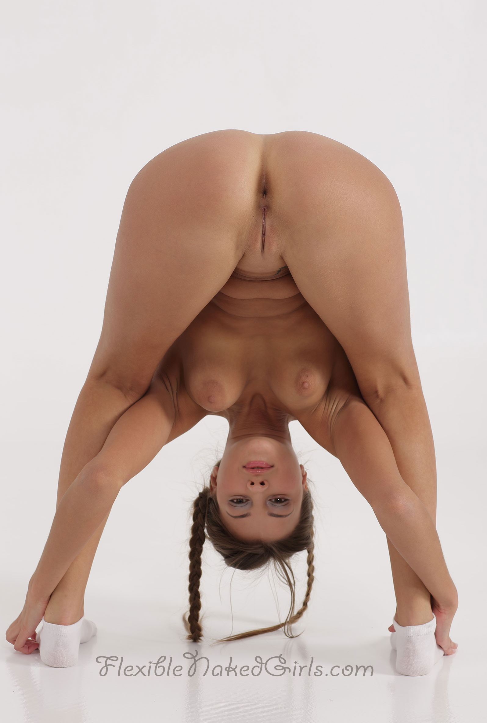 Flexible naked girls